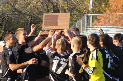 Boys soccer team claims 6A state title