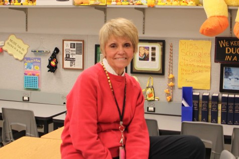 ELA teacher Sherry Unruh announces retirement