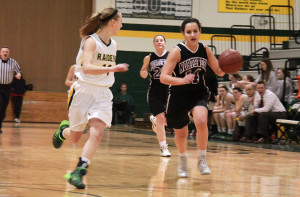 Girls basketball ends season on loss by SMS