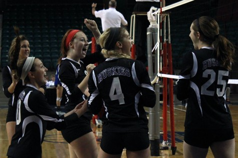 Varsity volleyball takes third at state