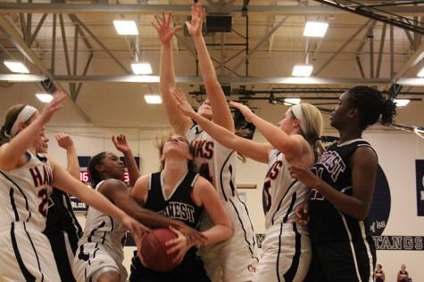Girls basketball loses to Olathe East High School in KA-MO tournament championship