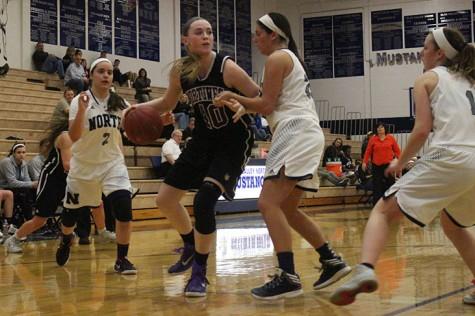 Girls varsity basketball defeats BVN
