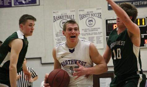 Boys varsity basketball defeated by BVSW on Senior Night