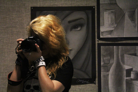 Photography on display