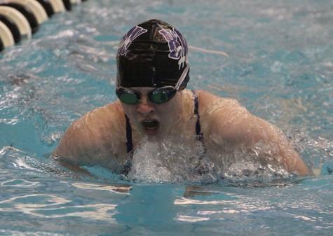 Photo gallery: girls varsity swimming vs. BVHS