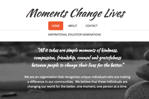 Moments Change Lives organization created to award educators