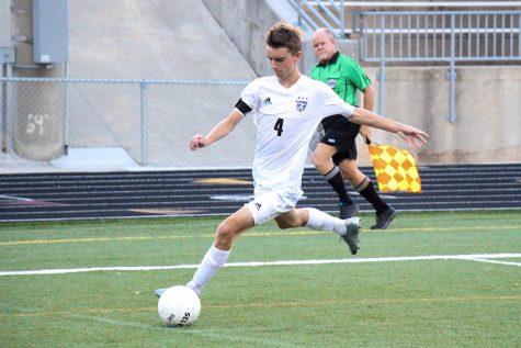 Boys varsity soccer loses to Rockhurst, 0-3