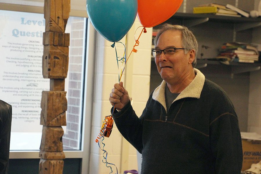 John Butcher wins Blue Valley district nomination for Kansas Master Teacher award