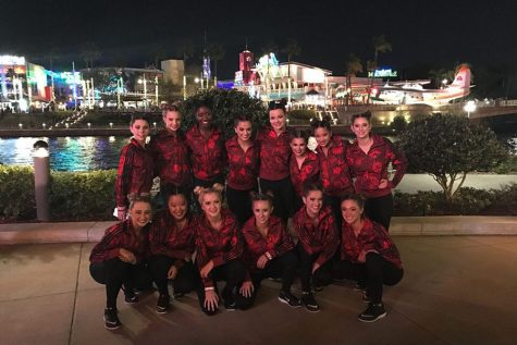 Dazzlers perform in NDA finals