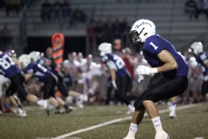 Varsity football defeated by Bishop Miege