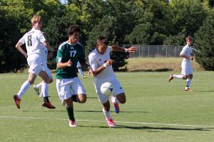 Boys varsity soccer moves forward in Fat Cat tournament