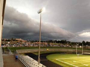 Football game vs. Bishop Miege canceled