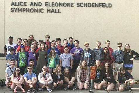 Band and choir travel to Los Angeles over Spring Break