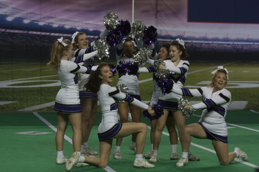 Cheer program reflects on third place finish in inaugural KSHSAA Game Day Spirit Showcase